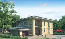Проект бетонного дома 53-25