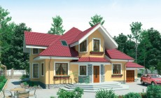 Проект бетонного дома 53-27