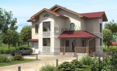 Проект бетонного дома 53-38
