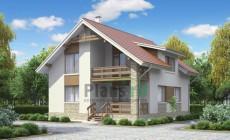 Проект бетонного дома 53-39