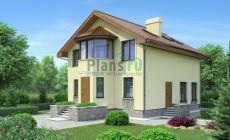 Проект бетонного дома 53-40