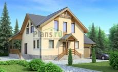 Проект бетонного дома 53-41
