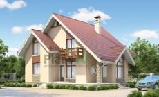 Проект бетонного дома 53-42