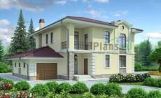 Проект бетонного дома 53-45