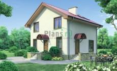 Проект бетонного дома 53-47
