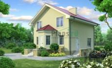 Проект бетонного дома 53-50