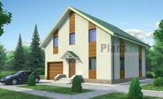 Проект бетонного дома 53-51