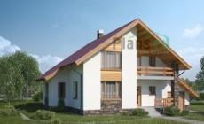 Проект бетонного дома 53-56