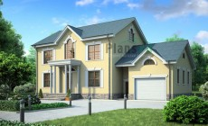 Проект бетонного дома 53-59