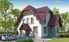 Проект бетонного дома 53-61