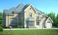 Проект бетонного дома 53-63