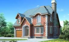 Проект бетонного дома 53-68
