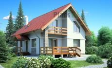 Проект бетонного дома 53-71