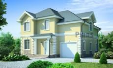 Проект бетонного дома 53-75