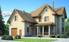 Проект бетонного дома 53-76