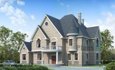 Проект бетонного дома 53-79
