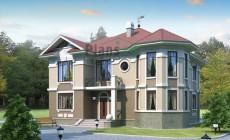 Проект бетонного дома 53-80