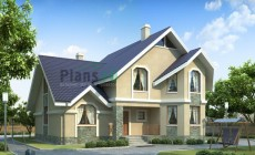 Проект бетонного дома 53-82