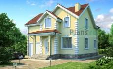 Проект бетонного дома 53-83