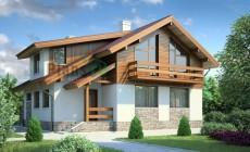 Проект бетонного дома 53-84