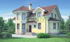 Проект бетонного дома 53-85