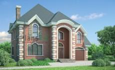 Проект бетонного дома 53-86