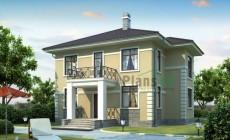 Проект бетонного дома 53-91