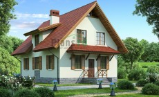 Проект бетонного дома 53-92