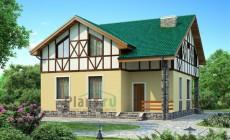 Проект бетонного дома 53-99