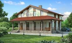 Проект бетонного дома 54-01