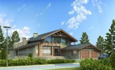 Проект бетонного дома 54-09