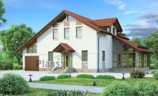 Проект бетонного дома 54-15
