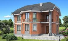 Проект бетонного дома 54-19