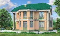 Проект бетонного дома 54-20