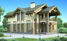 Проект бетонного дома 54-21