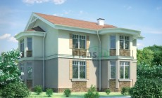 Проект бетонного дома 54-23