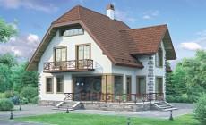Проект бетонного дома 54-24