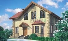 Проект бетонного дома 54-25