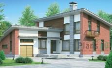 Проект бетонного дома 54-31