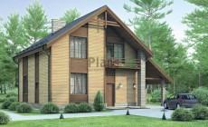 Проект бетонного дома 54-32