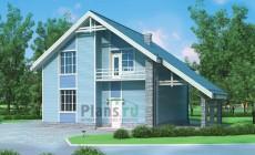 Проект бетонного дома 54-33