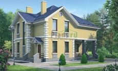 Проект бетонного дома 54-39