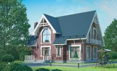 Проект бетонного дома 54-40