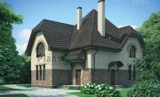 Проект бетонного дома 54-43