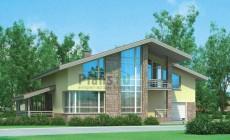 Проект бетонного дома 54-44
