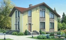 Проект бетонного дома 54-51