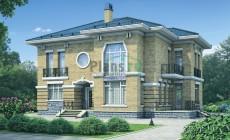 Проект бетонного дома 54-53