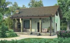Проект бетонного дома 54-56