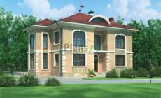 Проект бетонного дома 54-58