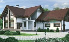 Проект бетонного дома 54-62